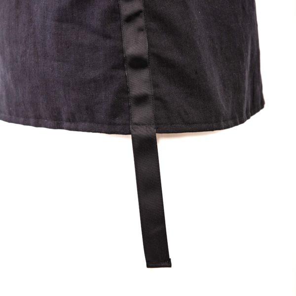 Top in cotone e lino con maniche ad alette - Cinzia Rossi