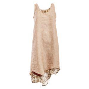 Vestito in seta e lino - Cinzia Rossi