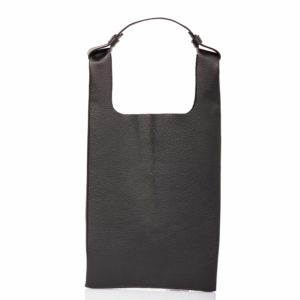 Tote bag in pelle nera - Cinzia Rossi