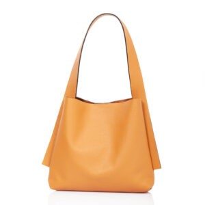 Tote-bag in pelle beige - Cinzia Rossi