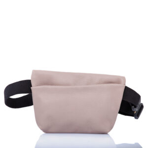 Sac ceinture en cuir rose - Cinzia Rossi